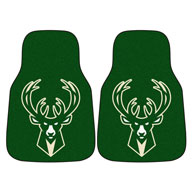 Milwaukee Bucks NBA Carpet Car Mats