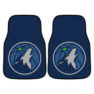 Minnesota Timberwolves NBA Carpet Car Mats