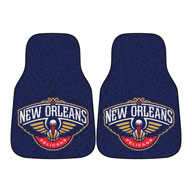 New Orleans PelicansNBA Carpet Car Mats