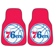 Philadelphia 76ers NBA Carpet Car Mats