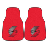 Portland Trail Blazers NBA Carpet Car Mats