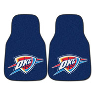 Oklahoma City Thunder NBA Carpet Car Mats