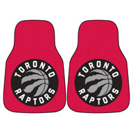 Toronto Raptors NBA Carpet Car Mats