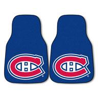 Montreal Canadiens NHL Carpet Car Mats