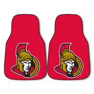 Ottawa Senators NHL Carpet Car Mats