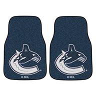 Vancouver Canucks NHL Carpet Car Mats