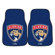 Florida Panthers NHL Carpet Car Mats