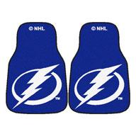 Tampa Bay Lightning NHL Carpet Car Mats