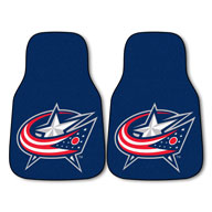 Columbus Blue Jackets NHL Carpet Car Mats