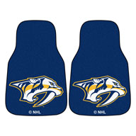 Nashville Predators - Blue NHL Carpet Car Mats