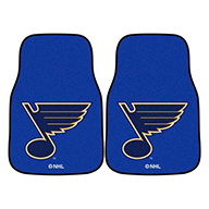 St. Louis Blues NHL Carpet Car Mats