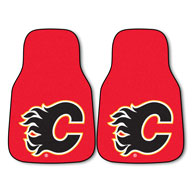 Calgary Flame NHL Carpet Car Mats