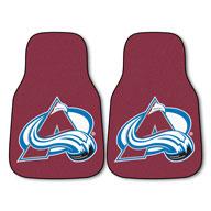 Colorado Avalanche NHL Carpet Car Mats