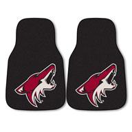 Arizona Coyotes NHL Carpet Car Mats