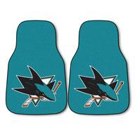 San Jose Sharks NHL Carpet Car Mats