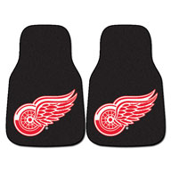 Detroit Red Wings - Black NHL Carpet Car Mats