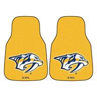Nashville Predators - Yellow NHL Carpet Car Mats