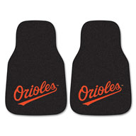 Baltimore Orioles MLB Carpet Car Mats