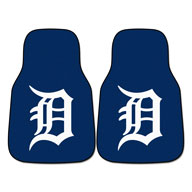 Detroit TigersMLB Carpet Car Mats