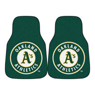 Oakland AthleticsMLB Carpet Car Mats
