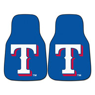 Texas RangersMLB Carpet Car Mats