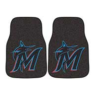 Miami MarlinsMLB Carpet Car Mats