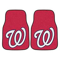Washington NationalsMLB Carpet Car Mats