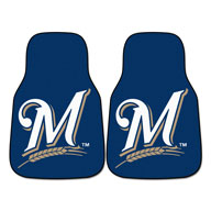 Milwaukee BrewersMLB Carpet Car Mats