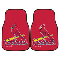 St. Louis CardinalsMLB Carpet Car Mats
