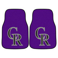 Colorado RockiesMLB Carpet Car Mats