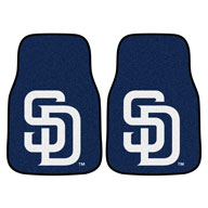 San Diego PadresMLB Carpet Car Mats