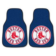Boston Red Sox MLB Carpet Car Mats