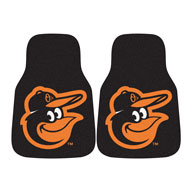 Baltimore Orioles 2MLB Carpet Car Mats
