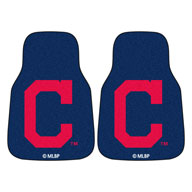 Chicago Cubs 2 MLB Carpet Car Mats