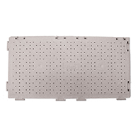 Perforated - Light Gray UltraDeck Portable Event Flooring