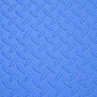 "Blue 5/8"" Diamond Soft Tiles"