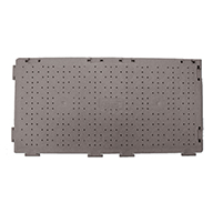 Perforated - Dark Gray UltraDeck Portable Event Flooring