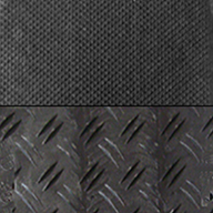 Pedestrian/Rugged BlackDuraDeck Ground Protection Mats