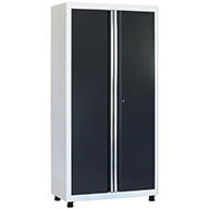 White/CharcoalAmerican Heritage 2-Door Tall Cabinet