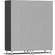 Stardust Silver MetallicUlti-MATE Garage 2.0 Series 2-PC Tall Cabinet Kit