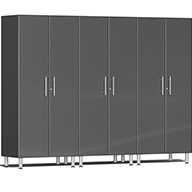 Graphite Grey MetallicUlti-MATE Garage 2.0 Series 3-PC Tall Cabinet Kit