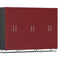 Ruby Red MetallicUlti-MATE Garage 2.0 Series 3-PC Tall Cabinet Kit