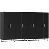Midnight Black MetallicUlti-MATE Garage 2.0 Series 4-PC Tall Cabinet Kit