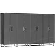 Graphite Grey MetallicUlti-MATE Garage 2.0 Series 4-PC Tall Cabinet Kit