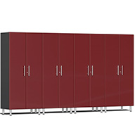 Ruby Red MetallicUlti-MATE Garage 2.0 Series 4-PC Tall Cabinet Kit