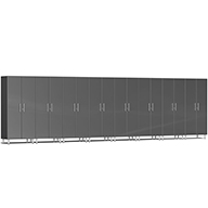 Graphite Grey MetallicUlti-MATE Garage 2.0 Series 8-PC Tall Cabinet Kit
