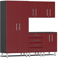 Ruby Red MetallicUlti-MATE Garage 2.0 Series 5-PC Kit