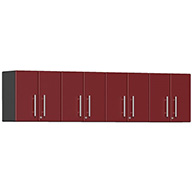 Ruby Red MetallicUlti-MATE Garage 2.0 Series 4-PC Wall Cabinet Kit