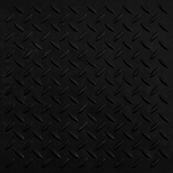 "Black - Diamond Pattern 5/8"" Evolution Rubber Tiles"