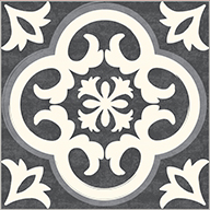 Vintage Tiles FloorAdorn Self-Adhesive Vinyl Sticker